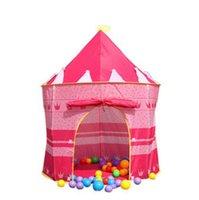 Ventas al por mayor 2015 nueva primavera verano del bebé, infantil para niños chicos grils niños princesa Carpa Infantil regalo tienda al aire libre tienda de la casa de juegos YY-502