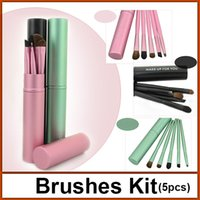 hair packaging - luxury professional cosmetic makeup brush set make up brushes kit with retail package EB6012