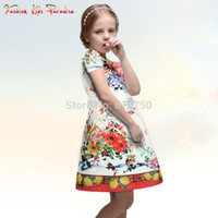 Wholesale Designer Baby Clothes Baby Girls Dress Designer