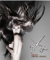 Wholesale Hairdressing Tool Kit Scissors Set Straight Thinning Cutting with Razor Comb Clothes Oil Hair Scissor Makeup Styling Tools with Case