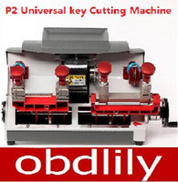 universal milling machine - 2015 Newest P2 Vertical milling machine Universal key copy machine For Locksmith any key Better than Slica Key Cutting Machine