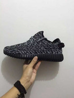 Wholesale Originals Kanye Milan West Boost Classic Gray Black Men s Fashion Sneaker Shoes size us