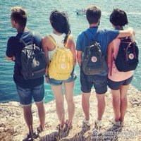 Wholesale color optional Classic Casual Backpack Kanken Waterproof laptop bag