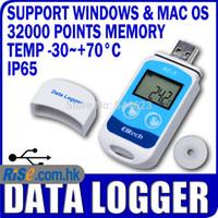 Wholesale Temp Recorder Internal Sensor USB Temperature Data logger Datalogger