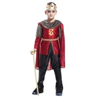 baby king costume - For Years Boys Children Duxury Honorable Arab Prince Hallowean Party Cosplay Costumes Discounted Baby Kids King Costumes Sets