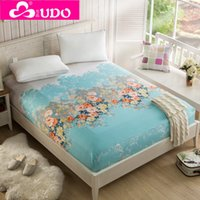 Wholesale Bedding Fitted sheet Mattress cover Fitted bed sheet cm cm Queen King Size Sanding by Polyester FM002