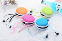 beat wire - 3 mm in ear beating Lenjoy earphones headphones earbuds with microphone iphone c s Samsung with zipper case earphones with mic for toured