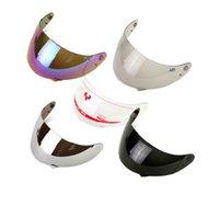 Wholesale 1 pc yohe YOHE motorcycle helmet lens General Symphony silver plating transparent black Lens full face glasses