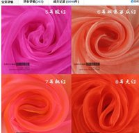 background pic - ORGANZA For background of wedding decoration Chair Organza m x110 meters roll colors For U Pic