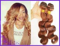 Cheap Ombre Hair Extensions Brazilian Body Wave Virgin Hair 3Pcs Lot Rosa Hair Products 4 # Brazilian Human Hair Bundles