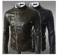 best mens leather jackets - Cheap Best Men Outerwear Men PU Leather Jackets Men Waist Coat High Quality Fall Coats Mens Motorcycle Leather Jackets Korean Coats