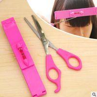 Wholesale 1000pcs LJJC3417 High Quality Hair Clip Professional Trimming Bangs Premium Haircutting Tools Pack Guide Layers Bangs Cut Kit Hair Clip