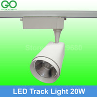 Wholesale LED Track Light W COB Rail Lights Spotlight Replace w Halogen Lamp Tracking Lights For Shoe Clothes Lighting V V V V V