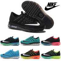 brand sport shoes - Nike Air Max Flyknit Running Shoes For Men New High Quality Weaving Mens Brands Sports Shoes Mesh Trainers Outdoor