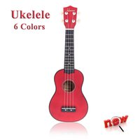 Wholesale Hot Homeland in Compact Ukelele Ukulele Basswood Soprano Acoustic Stringed Instrument Strings Candy Colors for Choose