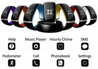 android phones for sale - Sale L12S OLED Touch screen Bluetooth Bracelet Wrist Watch Smart Watch for IOS iPhone Samsung and Android Phone Call Answer SMS Reminding