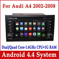 2 DIN audi a4 gps navigation - Android Car DVD Player for Audi A4 w GPS Navigation Radio BT USB AUX Stereo