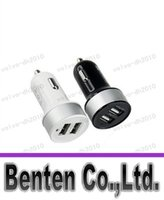 Wholesale llfa7936 High Quality Universal Dual USB Port V A Car Charger Smart Short Circuit Protection Retail Package