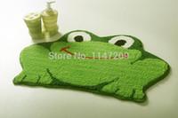 home bedding - Tamehome Cartoon Frog style anti slip door bathroom mats doormat liveing room blanket cushion floor rug home bed carpet