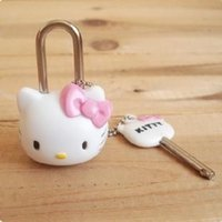 Wholesale 100PCS cute little locks padlock luggage mini cartoon locks high quality