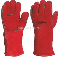 working leather gloves - Delta Plus Venitex Leather Welding Gloves Work Gloves kevlar gloves CA515R