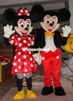 1509 Haute Qualité costume de mascotte Taille adulte costume de mascotte Costume de Cosplay Halloween Carnaval Costume deux PC Livraison gratuite