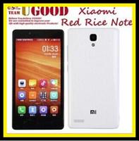 Wholesale The original Xiaomi Redmi Note MTK6592 octa core mobile phone Android smartphones HD IPS13MP OTG