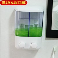 Wholesale Home mini soap dispenser emulsion wall mounted bathroom hand sanitizer bath liquid