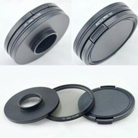 Wholesale 58mm GoPro CPL Circular Polarizer Lens Filter Adapter Protective Cap For Hero Price Support