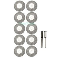 Wholesale 10pcs MM Diamond Grinding Slice Dremel Accessories for Rotary Tools H2319 A2