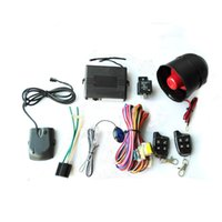 Wholesale New Product High quality SYD Car Alarm Device Security System Tone Horn Type with two remoter
