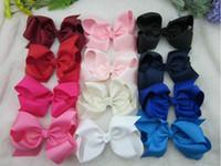 Cheap baby ribbon bows Best Hair accessories