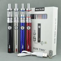 Cheap Electronic cigarettes Sub Two mini TC Kit subtank mini sub ohm tanks rda vapor atomizers vape vaporizer polymer 30 W ecig mods