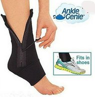 athletic ankle support - Ankle Genie Sport Support Zip Up Compression Brace Sport Protective Ankle Genie support feet ankle care Protective Ankle Brace LJJD2967 pc