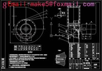 Wholesale GY4 NO29 D type boiler pass Fan Drawings Full Machining drawings CAD