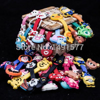 Wholesale x Cute Cartoon Earphone Cord Cable Wire Holder Organizer Winder PVC A0061