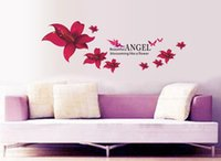 angels poster - Creative Angel Wall Stickers Home Decor For Kids Rooms Bedroom Parlour home decoration Decals poster adesivo de parede Stickers