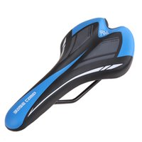 Wholesale New PU Leather Mountain Race Bicycle Saddle Seat Cover Non Slip Cushion Road Bike Saddles Seat Cushion H5076