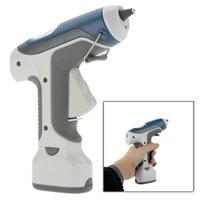 Wholesale Pro sKit GK V Battery Cordless Hot Melt Glue Gun Block Gine LED Lighting For DIY Model Living Craft With Sticks order lt no track