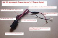 Wholesale Motorcycle Car power outlet socket V pieces