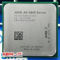 Wholesale AMD A8 K FM1 GHz MB W CPU processor FM1 shipping free scrattered pieces A8 APU Integrated graphics
