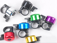 Cheap Fedex DHL Free Shipping Cheap Metal Ring Handlebar Bell Sound For Bike Bicycle horns 7 colors ,600pcs lot