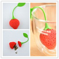 Wholesale Silicone magic basket Strawberry colander Tea Strainer Herbal Spice Infuser Filter tools pice Infuser Dissolve Filter Diffuser
