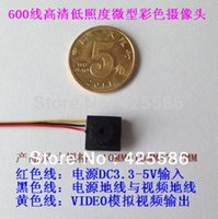 Wholesale Top Fasion Freeshipping Small Camera Low Illumination Hd Flash Color Cmos factory Direct Sale