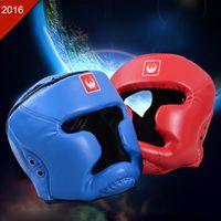 Wholesale Boxing Helmet Taekwondo Headgear Head Guard Protection Sanda Helmet Boxeo