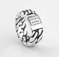 South American 925 silver rings - Fashion popular buddha to buddha silver ring Buddha to buddha ring Men ring btb ring Men ring silver rings best gift