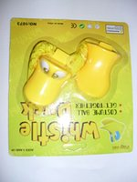 Wholesale 1152pcs eco friendly plastic cheering quack duck whistle in blister card high quality kids toys
