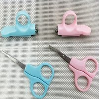 Wholesale Child Baby Infant Finger Toe Nail Clipper Scissor Cutter Set Safety Manicure Set pair