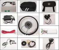Wholesale Extremely Powerful Electrical Bicycle with LED LCD Display quot Front Wheel Electric Motor Conversion Kits V W E Bike