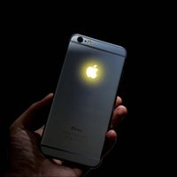 Cheap For Apple iPhone For iphone 6S Plus led light logo Best Bar 7 Colors Light logo for iPhone 6S Plus